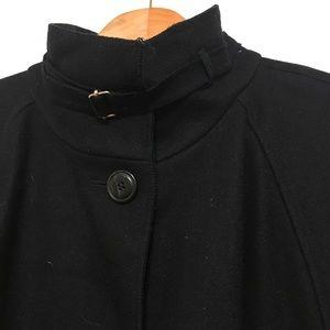 Harve Bernard Black Wool Coat